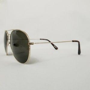 J. Crew Accessories - J. Crew Gold Metal Frame Womens Aviator Sunglasses